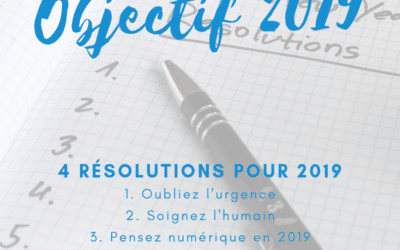 4 résolutions pour votre petite entreprise en 2019