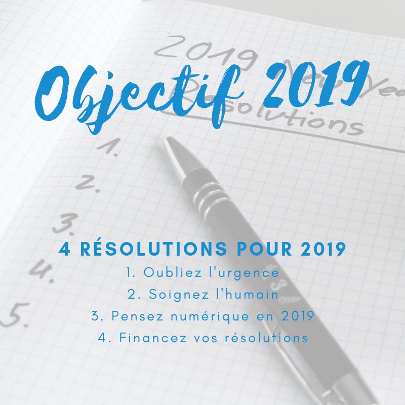 Objectifs 2019 pour votre petite entreprise