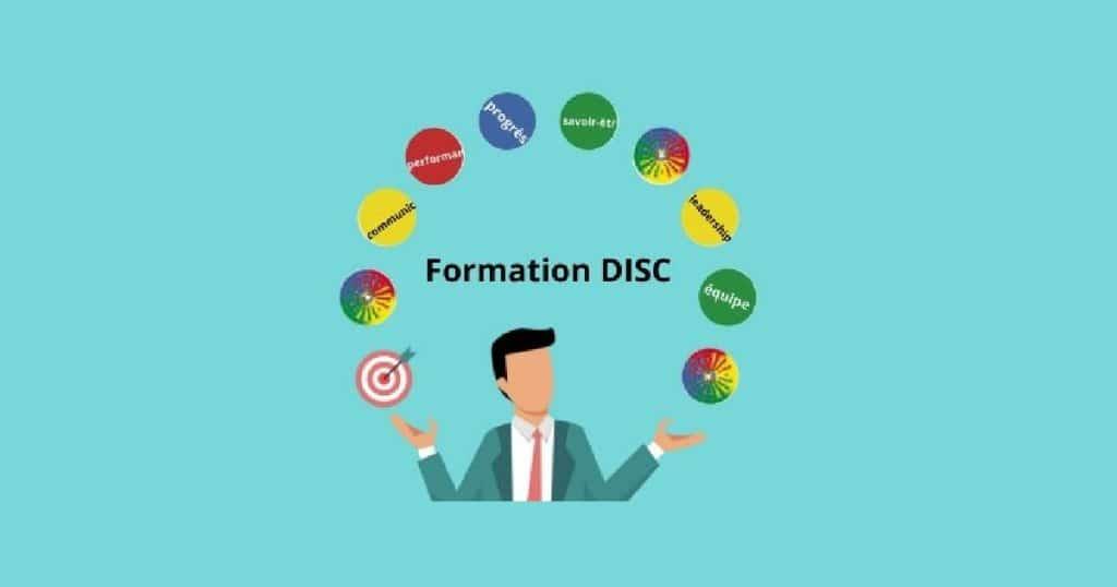 Business man jongle avec le DISC