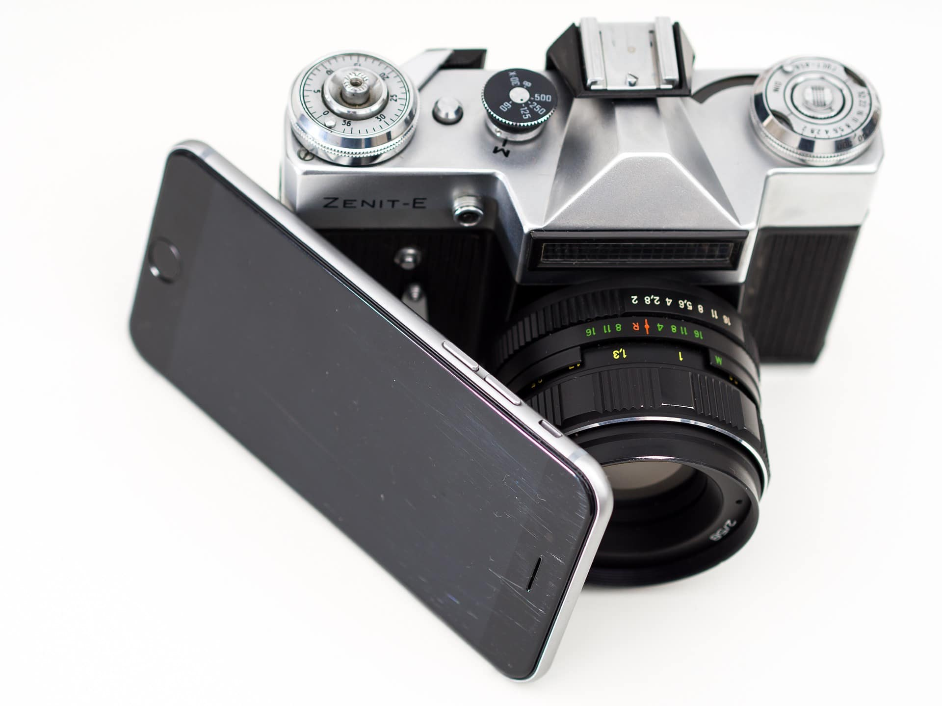 Appareil photo et smartphone