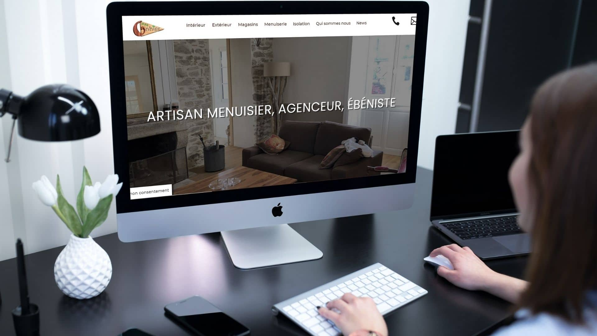 Creation site web TPE artisan en Maine et Loire